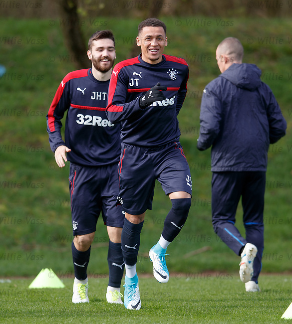 Jon Toral and James Tavernier