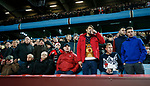 Sheffield Utd fans watch the match during the Championship match at Villa Park Stadium, Birmingham. Picture date 23rd December 2017. Picture credit should read: Simon Bellis/Sportimage