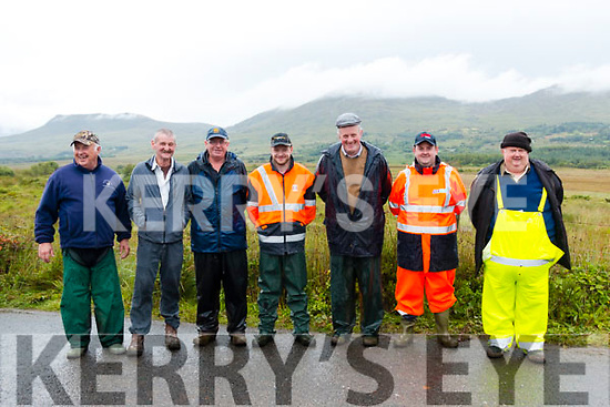 Pat Fitzgerald, Danny Streton, Jack Horgan, Mark Horgan, Cllr Dan McCarthy, Niall Lynch & Dan Lynch. of the Kenmare Harriers Club.