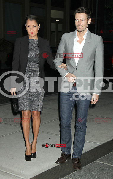 May 03, 2012 Keytt Lundqvist, Alex Lundqvist attends the screening of   Hick at the Cosby Street Hotel  in New York City..Credit:RWMediapunchinc.com