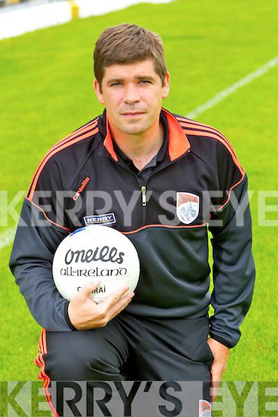 Kerry Senior football team manager Eamon Fitzmaurice.