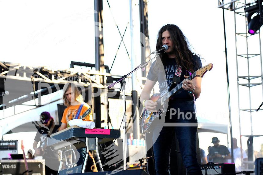 Kurt Vile and The Violators live auf dem Austin City Limits Music Festival 2015 im Zilker Park. Austin, 04.10.2015