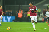 Issa Diop of West Ham United during West Ham United vs Fulham, Premier League Football at The London Stadium on 22nd February 2019