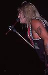 Motley Crue live in St. Louis July 8 , 1988.