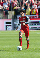 31 March 2011: Toronto FC defender Logan Emory #2 in action during a game between the Columbus Crew and the Toronto FC at BMO Field in Toronto, Ontario Canada..The Columbus Crew won 1-0.