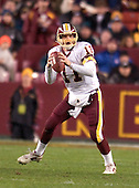 Washington Redskins quarterback Patrick Ramsey (11) prepares to throw in game action against the Philadelphia Eagles in Landover, Maryland on December 12, 2004.  The Eagles won the game 17 - 14..Credit: Ron Sachs / CNP