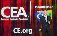 LAS VEGAS, NV - January 8 : Consumer Electronics Association (CEA) President and CEO Gary Shapiro pictured at CES Opening Keynote at The Venetian in Las Vegas, Nevada on January 8, 2013. Credit: Kabik/ Starlitepics / MediaPunch Inc. ***HOUSE COVERAGE*** /NortePhoto /NortePhoto