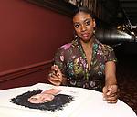 Condola Rashad attends the Sardi's portrait unveiling for Condola Rashad at Sardi's Restaurant on May 10, 2018 in New York City.