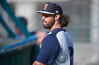 Brevard County Manatees Taylor Brennan (12) during practice before a game against the Fort Myers Miracle on April 13, 2016 at Hammond Stadium in Fort Myers, Florida.  Fort Myers defeated Brevard County 3-0.  (Mike Janes/Four Seam Images)