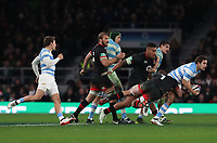 England's Sam Underhill<br /> <br /> Photographer Rachel Holborn/CameraSport<br /> <br /> International Rugby Union Friendly - Old Mutual Wealth Series Autumn Internationals 2017 - England v Argentina - Saturday 11th November 2017 - Twickenham Stadium - London<br /> <br /> World Copyright &copy; 2017 CameraSport. All rights reserved. 43 Linden Ave. Countesthorpe. Leicester. England. LE8 5PG - Tel: +44 (0) 116 277 4147 - admin@camerasport.com - www.camerasport.com