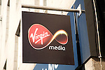 Virgin media shop sign