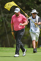 Shane Lowry (IRL) after sinking his putt on 7 during round 2 of the World Golf Championships, Mexico, Club De Golf Chapultepec, Mexico City, Mexico. 2/22/2019.<br /> Picture: Golffile | Ken Murray<br /> <br /> <br /> All photo usage must carry mandatory copyright credit (© Golffile | Ken Murray)