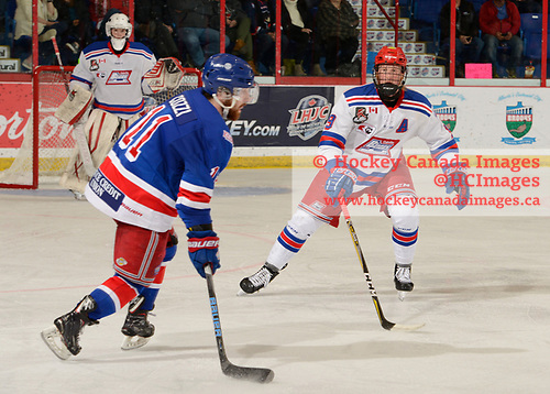 Brooks, AB - May 18 2019 - Semifinal 2 - Oakville Blades vs. Prince George Spruce Kings during the 2019 National Junior A Championship at the Centennial Regional Arena in Brooks, Alberta, Canada (Photo: Matthew Murnaghan/Hockey Canada)