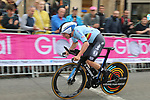 Remco Evenepoel (BEL) climbs Parliment Street during the Men Elite Individual Time Trial of the UCI World Championships 2019 running 54km from Northallerton to Harrogate, England. 25th September 2019.<br /> Picture: Seamus Yore | Cyclefile<br /> <br /> All photos usage must carry mandatory copyright credit (© Cyclefile | Seamus Yore)
