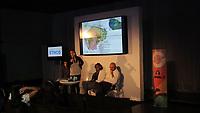 Lideranças empresariais, pesquisadores cientistas e empreendedores, apresentam suas teorias e experiências no desafio de criar novos modelos de desenvolvimento econômico e social, durante a 1ª Conferência Ethos 360º em Belém,Pará, Brasil.<br /> Com edições anuais em São Paulo e Rio de Janeiro, a Conferência Ethos 360°, ampliou a discussão e o engajamento de empresas e lideranças à agenda do desenvolvimento sustentável, promoveu networking e mudanças na gestão e implementação de negócios e empreendimentos sustentáveis no Brasil.<br /> ©Laura Rocha Santos<br /> 31/10/2017