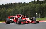 24.08.2018, Circuit de Spa-Francorchamps, Spa-Franchorchamps, FORMULA 1 2018 JOHNNIE WALKER BELGIAN GRAND PRIX, 23. - 26.08.2018<br /> , im Bild<br />Sebastian Vettel (GER#5), Scuderia Ferrari<br /> <br /> Foto &copy; nordphoto / Bratic