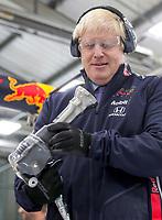 Boris Johnson Visit to Red Bull Racing in Milton Keynes