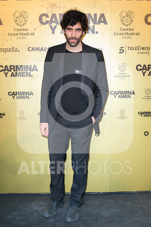 "Spanish actor Tamar Novas attend the Premiere of the movie ""Carmina y Amen"" at the Callao Cinema in Madrid, Spain. April 28, 2014. (ALTERPHOTOS/Carlos Dafonte)"