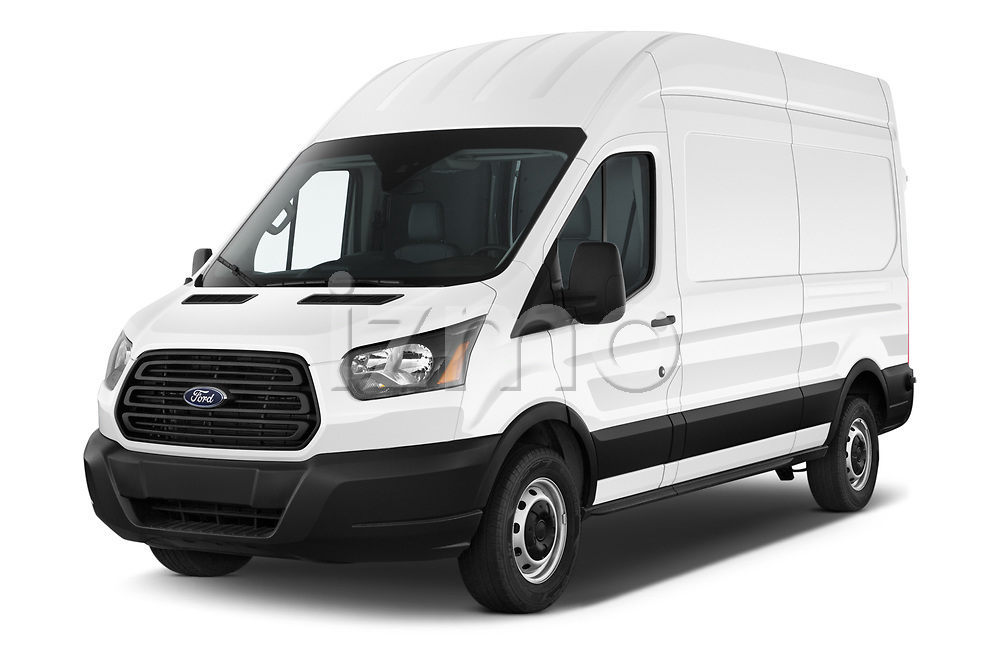 2019 Ford Transit-Van - 4 Door Cargo Van Angular Front automotive stock photos of front three quarter view