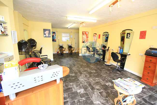 Precision Hair and Beauty Interior..Picture: Shane Maguire / www.newsfile.ie.