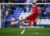 1st February 2020; St Andrews, Birmingham, Midlands, England; English Championship Football, Birmingham City versus Nottingham Forest; Michael Dawson of Nottingham Forest warms-up prior to the match