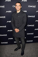 "LOS ANGELES - FEB 7:  Joseph Julian Soria_417 at the ""The Oath"" Red Carpet Premiere Event at the Sony Studios on February 7, 2018 in Culver City, CA"