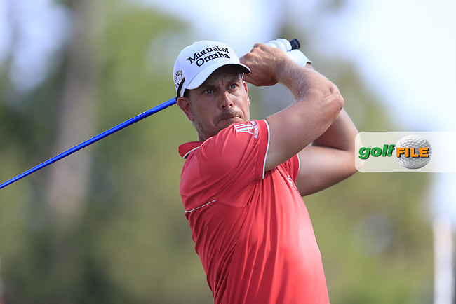 Henrik Stenson (SWE) during round 1of the Players, TPC Sawgrass, Championship Way, Ponte Vedra Beach, FL 32082, USA. 12/05/2016.<br /> Picture: Golffile | Fran Caffrey<br /> <br /> <br /> All photo usage must carry mandatory copyright credit (&copy; Golffile | Fran Caffrey)