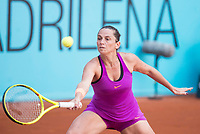 Italian Roberta Vinci during Mutua Madrid Open Tennis 2017 at Caja Magica in Madrid, May 06, 2017. Spain.<br /> (ALTERPHOTOS/BorjaB.Hojas) /NORTEPHOTO.COM