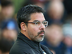 David Wagner manager of Huddersfield Town  during the premier league match at the Goodison Park Stadium, Liverpool. Picture date 2nd December 2017. Picture credit should read: Simon Bellis/Sportimage