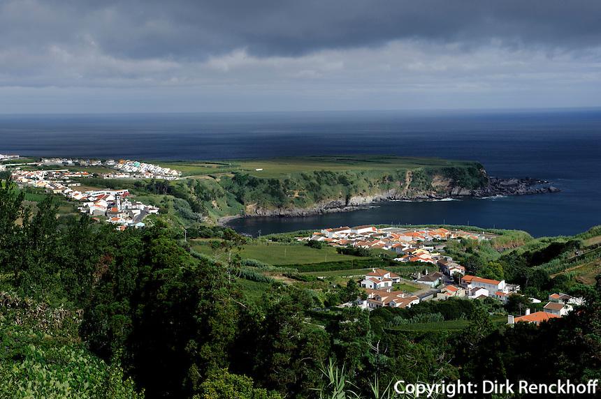 bei  Porto Formoso auf der Insel Sao Miguel, Azoren, Portugal