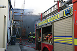 Fire Donaghys Mill Out Building