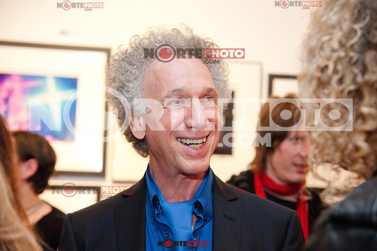 "Bob Gruen at the his ""Rock Seen"" photo exhibition at Art629 in New York City. May 4, 2012. © Kristen Driscoll/MediaPunch Inc."