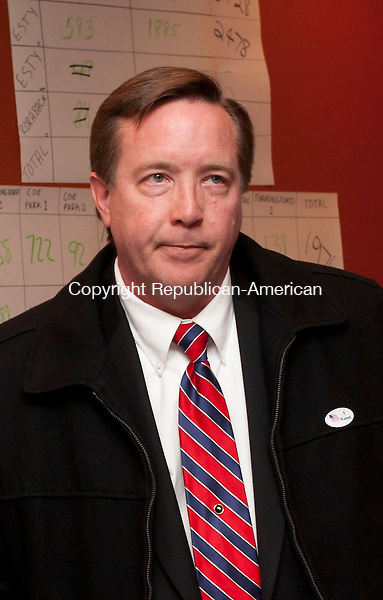TORRINGTON, CT-110612EM02-- Democratic candidate Dan Seger lost his bid against Kevin Witkos for the State Senate 8th District. Ed Messenger/ Republican-American