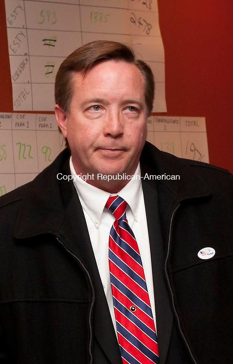TORRINGTON, CT-110612EM02-- Democratic candidate Dan Seger lost his bid against Kevin Witkos for the State Senate 8th District. Ed Messenger/ Republican-American