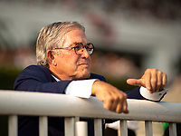 ARLINGTON HEIGHTS, IL - AUGUST 11: Craig Duchossois, son of Arlington Park and Churchill Downs share-holder, Dick Duchossois, watches the Beverly D Stakes during Arlington Million Day at Arlington Park on August 11, 2018 in Arlington Heights, Illinois. (Photo by Carson Dennis/Eclipse Sportswire/Getty Images)