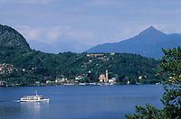 Europe/Italie/Lac de Come/Lombardie/Lenno: Vue sur le lac depuis la villa Balbaniello