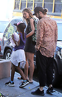 NEW YORK, NY July 05, 2018 Heidi Klum, Lou Samuel, Tom Kaulitz in New York. July 05, 2018 <br /> CAP/MPI/RW<br /> &copy;RW/MPI/Capital Pictures