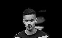 Paris Cowan-Hall of Wycombe Wanderers during the Sky Bet League 2 match between Wycombe Wanderers and Leyton Orient at Adams Park, High Wycombe, England on 23 January 2016. Photo by Andy Rowland / PRiME Media Images.