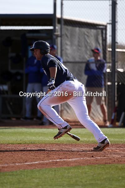 Brad Zunica - San Diego Padres 2016 spring training (Bill Mitchell)