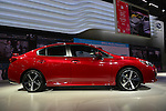 The 2017 Subaru Impreza Sport sedan is unveiled at the New York International Auto Show 2016, at the Jacob Javits Center. This was Press Preview Day one of NYIAS, and the Trade Show will be open to the public for ten days, March 25th through April 3rd.