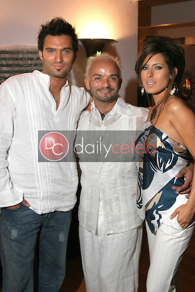 Diego Varas, Sergio Lopez and Kerri Kasem<br /> at Maria Conchita Alonso's Surprise Birthday Party, Private Residence, Los Angeles, CA 06-25-05<br /> David Edwards/DailyCeleb.Com 818-249-4998<br /> EXCLUSIVE