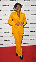 Clara Amfo at the Marie Claire Future Shapers Awards 2018, The Principal London, Russell Square, London, England, UK, on Tuesday 09 October 2018.<br /> CAP/CAN<br /> &copy;CAN/Capital Pictures