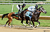 First time before South Andros wins The Justakiss Stakes at Delaware Park racetrack on 6/5/14