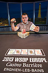 2013 WSOP Europe Event #3: €5000 Mixed Max No-Limit Hold'em