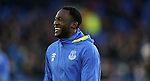 Romelu Lukaku of Everton warms up before the Premier League match at Goodison Park, Liverpool. Picture date: December 4th, 2016.Photo credit should read: Lynne Cameron/Sportimage