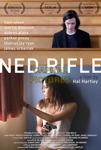 POSTER ART<br /> in Ned Rifle (2014) <br /> *Filmstill - Editorial Use Only*<br /> CAP/NFS<br /> Image supplied by Capital Pictures