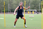 CARY, NC - JULY 27: Elizabeth Eddy. The North Carolina Courage held a training session on July 27, 2017, at WakeMed Soccer Park Field 7 in Cary, NC.
