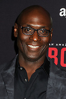 "3 March 2016 - West Hollywood, California - Lance Reddick. Amazon Original Series ""Bosch"" Season 2 Premiere held at the Pacific Design Center. Photo Credit: Byron Purvis/AdMedia"