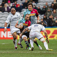 Ross Chisolm in action, Harlequins v Cardiff Blues in a European Challenge Cup match at Twickenham Stoop, Twickenham, London, England, on 17th January 2016
