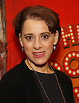 """Judy Kuhn attends the final performance after party for the New York City Center Encores! at 25 production of  """"Hey, Look Me Over!"""" on February 11, 2018 at the City Center Theatre in New York City."""